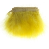 Marabou Trim 3-4in Aprox. 13g 1Yd Yellow
